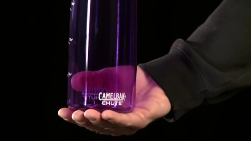 CAMELBAK Chute Water Bottle - image 3 from the video