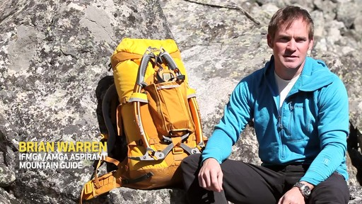 GREGORY Alpinisto 50 Backpack - image 1 from the video