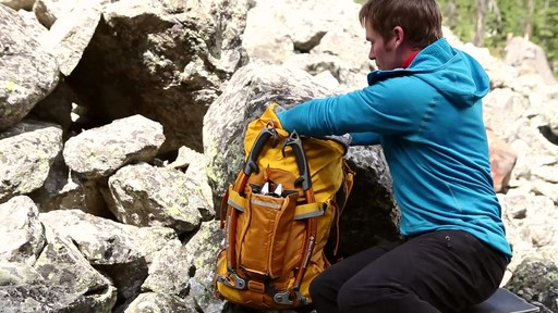 GREGORY Alpinisto 50 Backpack - image 9 from the video