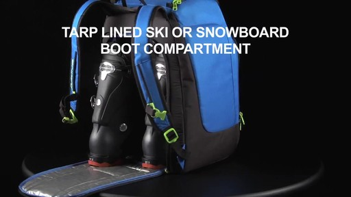 DAKINE 41 L Boot Pack - image 5 from the video