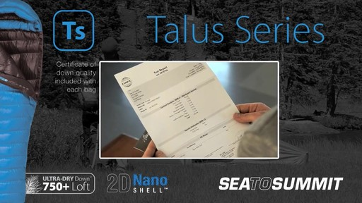 SEA TO SUMMIT Talus TsII - image 3 from the video