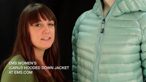 EMS Women's Icarus Hooded Down Jacket - image 10 from the video