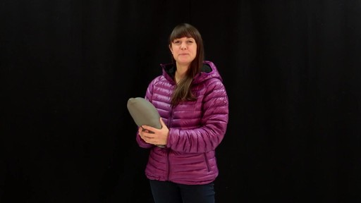 EMS Women's Icarus Hooded Down Jacket - image 2 from the video