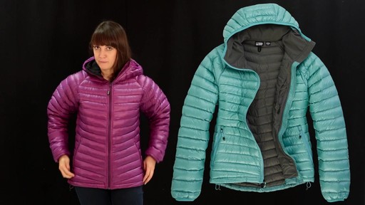 EMS Women's Icarus Hooded Down Jacket - image 3 from the video