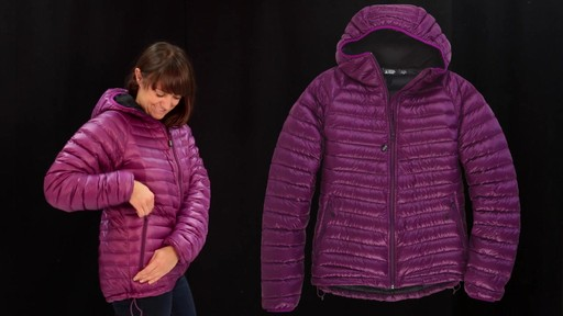 EMS Women's Icarus Hooded Down Jacket - image 6 from the video