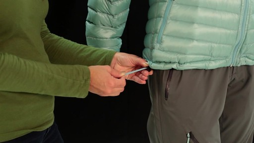 EMS Women's Icarus Hooded Down Jacket - image 7 from the video