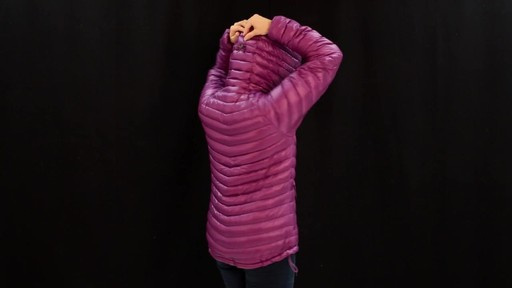 EMS Women's Icarus Hooded Down Jacket - image 8 from the video
