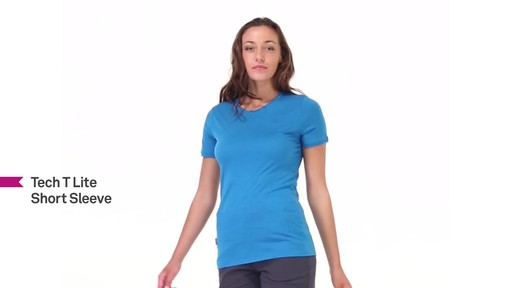 ICEBREAKER Women's Tech T Lite T-Shirt - image 10 from the video