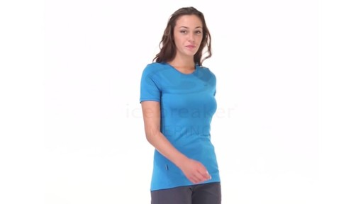 ICEBREAKER Women's Tech T Lite T-Shirt - image 3 from the video