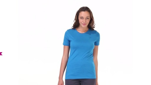 ICEBREAKER Women's Tech T Lite T-Shirt - image 4 from the video