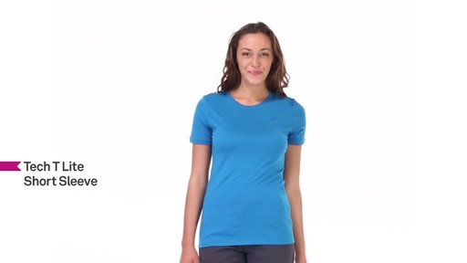 ICEBREAKER Women's Tech T Lite T-Shirt - image 5 from the video