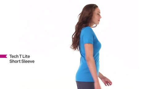 ICEBREAKER Women's Tech T Lite T-Shirt - image 7 from the video
