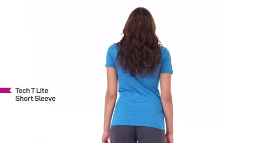 ICEBREAKER Women's Tech T Lite T-Shirt - image 8 from the video