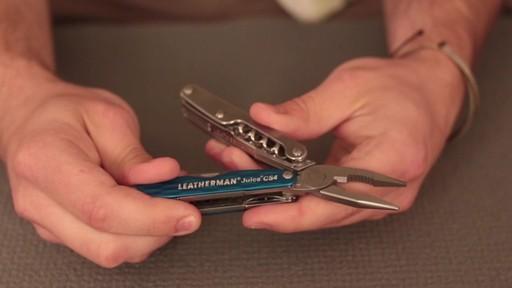 LEATHERMAN Juice Cs4 Multitool - image 4 from the video
