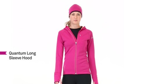 ICEBREAKER Women's Quantum Hoodie - image 10 from the video