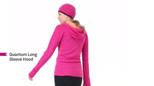 ICEBREAKER Women's Quantum Hoodie - image 9 from the video
