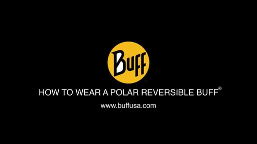 BUFF: How to wear a Reversible Polar Buff - image 1 from the video
