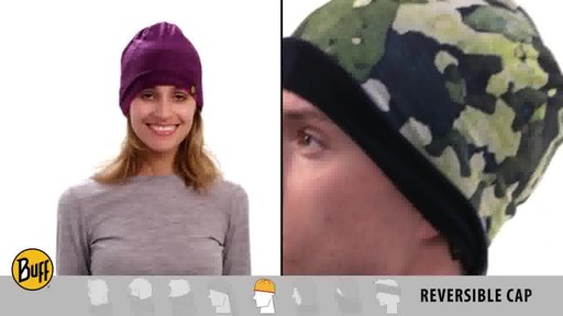 BUFF: How to wear a Reversible Polar Buff - image 9 from the video