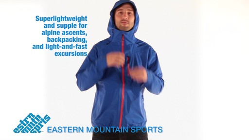 EMS Men's Storm Front Jacket - image 10 from the video