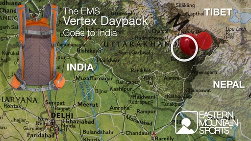 EMS Vertex Daypack Goes to India - image 1 from the video