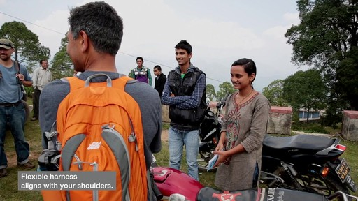 EMS Vertex Daypack Goes to India - image 5 from the video