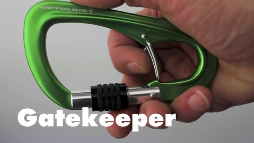 METOLIUS Gatekeeper Carabiner - image 1 from the video