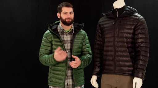 EMS Men's Icarus Hooded Down Jacket - image 2 from the video
