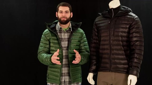 EMS Men's Icarus Hooded Down Jacket - image 3 from the video