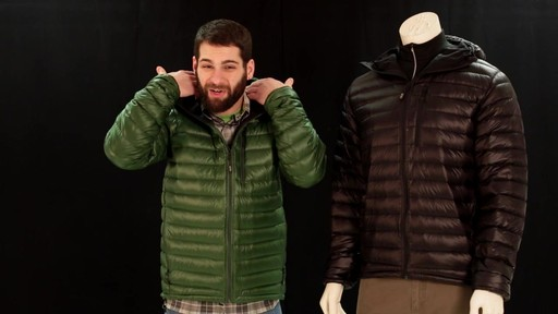 EMS Men's Icarus Hooded Down Jacket - image 8 from the video