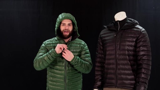 EMS Men's Icarus Hooded Down Jacket - image 9 from the video