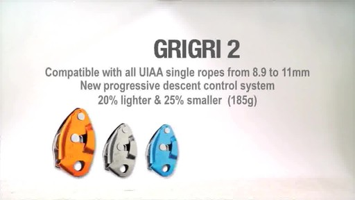 PETZL Grigri 2 Descender - image 10 from the video