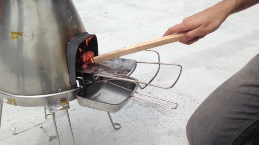 BIOLITE BaseCamp Stove - image 5 from the video