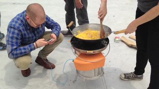 BIOLITE BaseCamp Stove - image 9 from the video