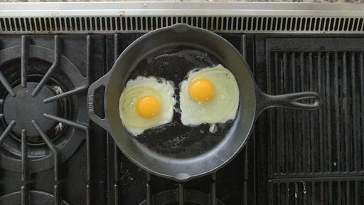 How to Cook an Egg with Lodge Cast Iron - image 1 from the video