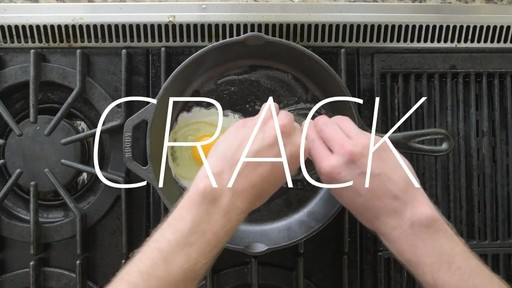 How to Cook an Egg with Lodge Cast Iron - image 6 from the video