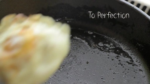How to Cook an Egg with Lodge Cast Iron - image 8 from the video