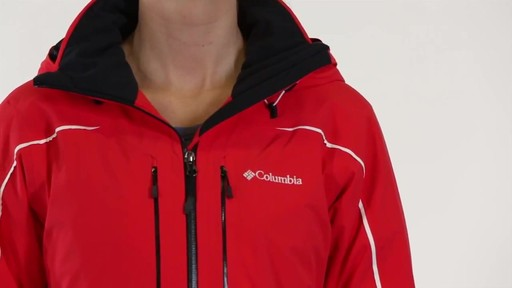 COLUMBIA Women's Millenium Blur Jacket - image 4 from the video