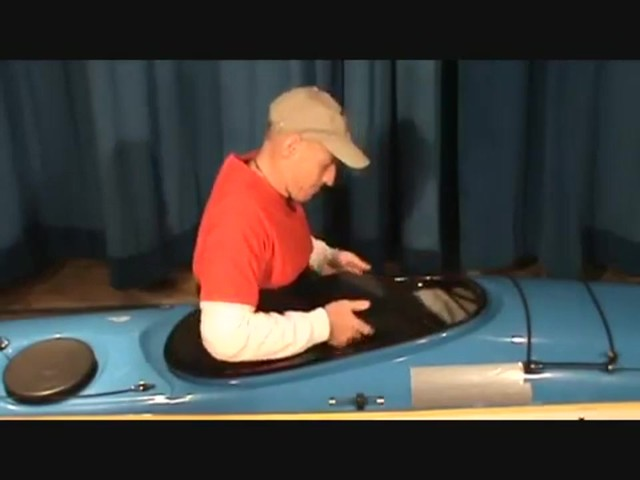 SEALS How to Install a Seals Bungee-Corded Neoprene Kayak Sprayskirt - image 2 from the video
