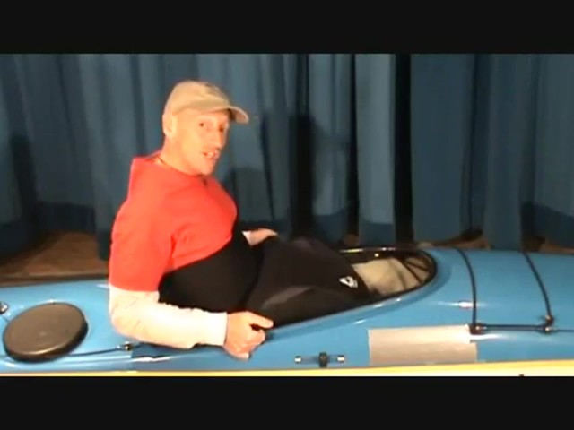 SEALS How to Install a Seals Bungee-Corded Neoprene Kayak Sprayskirt - image 3 from the video