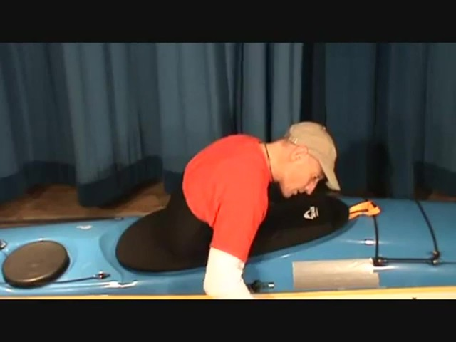 SEALS How to Install a Seals Bungee-Corded Neoprene Kayak Sprayskirt - image 7 from the video