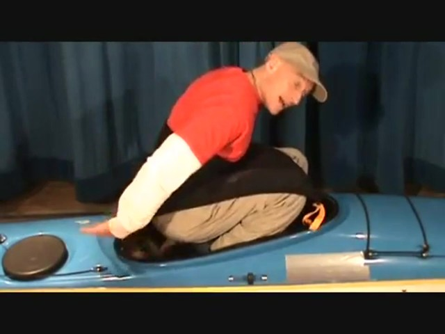 SEALS How to Install a Seals Bungee-Corded Neoprene Kayak Sprayskirt - image 8 from the video