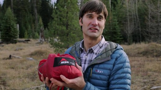 MSR Papa Hubba NX Tent - image 10 from the video