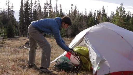 MSR Papa Hubba NX Tent - image 5 from the video
