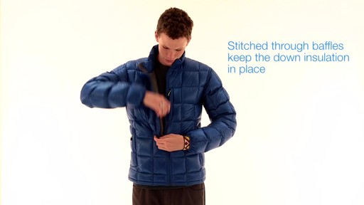 EMS Mens Sector Down Jacket - image 3 from the video