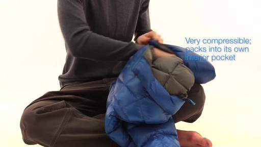 EMS Mens Sector Down Jacket - image 9 from the video