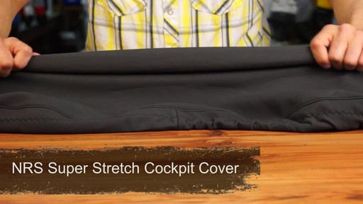 NRS Super Stretch Neoprene Cockpit Cover - image 1 from the video