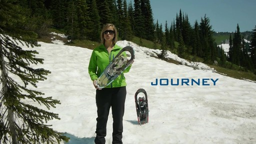 TUBBS Journey Snowshoes  - image 2 from the video