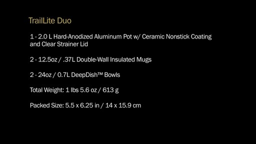 MSR Trail Lite Duo Cookset - image 10 from the video