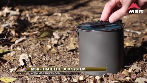 MSR Trail Lite Duo Cookset - image 4 from the video