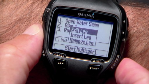 GARMIN Forerunner 910XT Tri Bundle - image 6 from the video